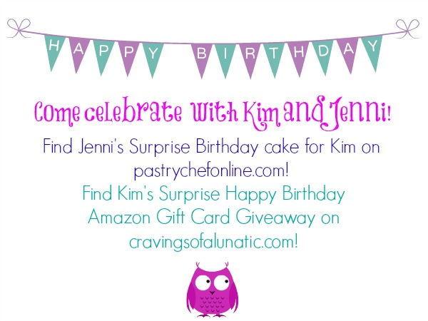 Birthday Giveaway for Cravings of a Lunatic