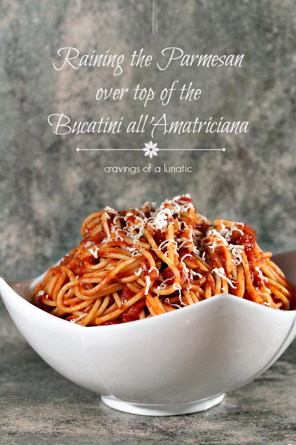 Bucatini All'Amatriciana: Burning Down The Kitchen with Foodie Stuntman
