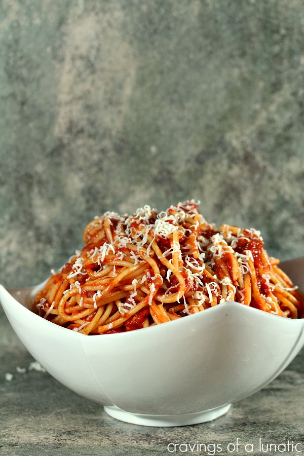 Bucatini all'Amatriciana | Cravings of a Lunatic | Simple recipe for classic pasta that will rock your world.
