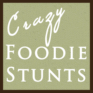 Crazy Foodie Stunts Logo