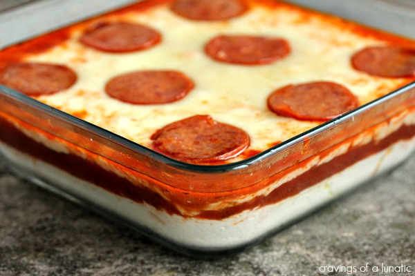 Pizza Dip | #AppetizerWeek | @Anolon #Giveaway