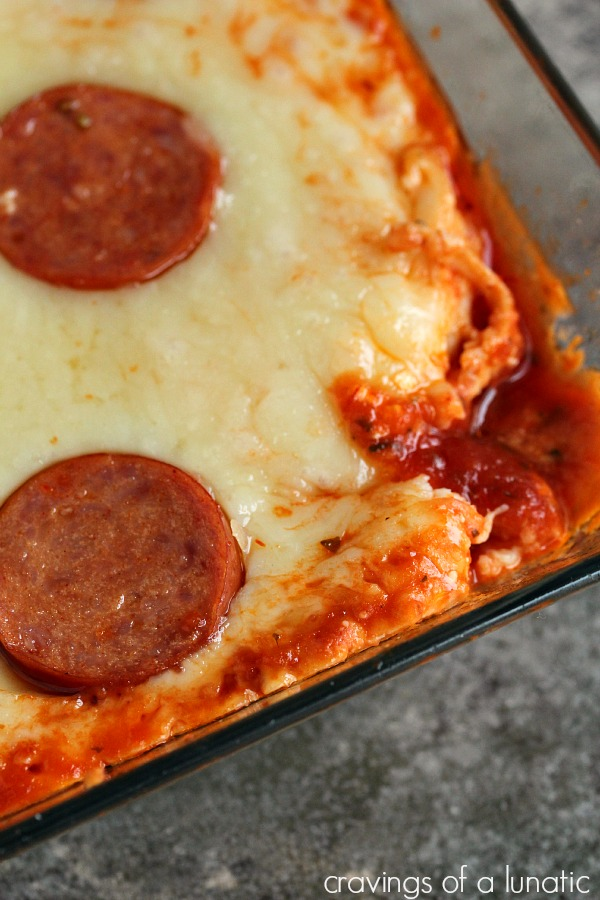 Easy Pizza Dip | Cravings of a Lunatic | Easy to make microwave pizza dip for those days you want to dunk in a hurry!