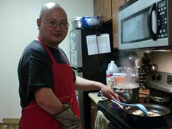 Foodie Stuntman Cooking Up a Storm