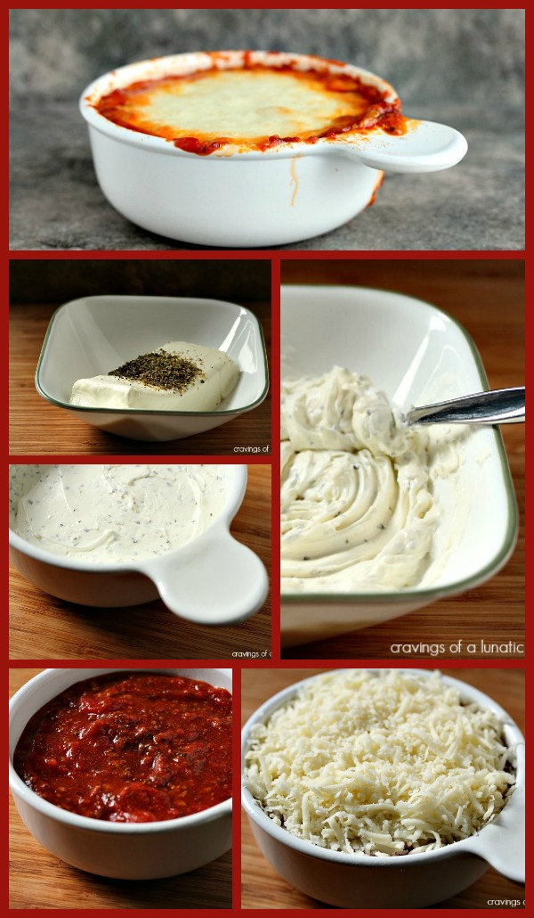 Lasagna Dip by Cravings of a Lunatic