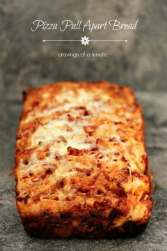 Pizza Pull Apart Bread. This easy appetizer recipe is loaded with cheesy goodness. Serve for game day or at your next party!