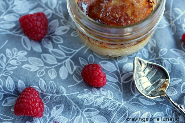 Crème Brûlée   That first crack into the sugar top is the best sound in the world. The taste is out of this world!