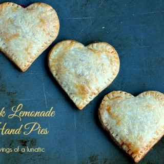 Pink Lemonade Hand Pies   Cravings of a Lunatic   Lemon curd filled hand pies that will delight your taste buds!