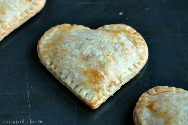 Pink Lemonade Hand Pies | Cravings of a Lunatic | Lemon curd filled hand pies that will delight your taste buds!
