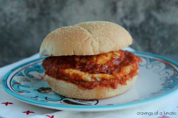 Ravioli Burger | Cravings of a Lunatic | This recipe is a burger stuffed in dough, then smothered in sauce.