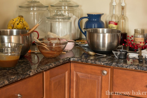 The Messy Baker's Kitchen | Featured on Cravings of a Lunatic's Feature Burning Down The Kitchen