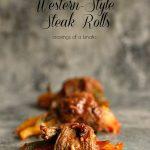 Western-Style Steak Rolls