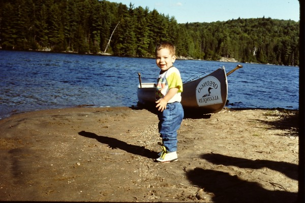 B-Dude at Algonquin Park