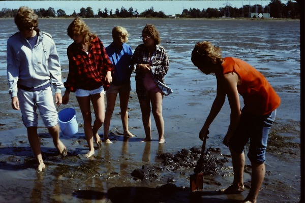 Clamming with the family