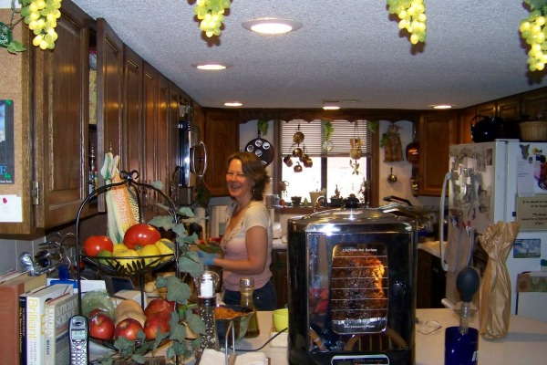 Donna of Cookistry in her kitchen | Burning Down The Kitchen Interview on Cravings of a Lunatic