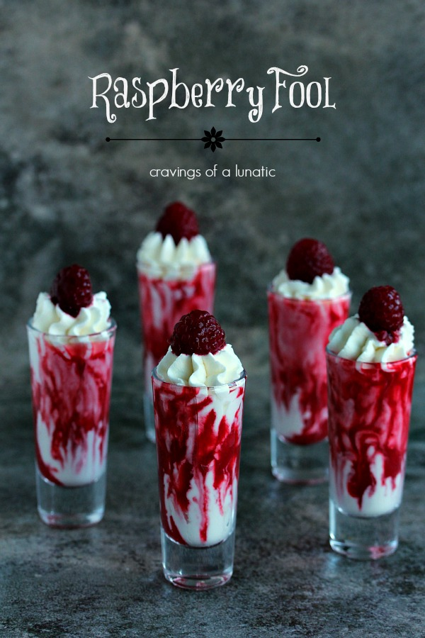 Raspberry Fool   This fool recipe is simple to put together, yet complex in taste. You are going to love this one. It will become a family favourite!