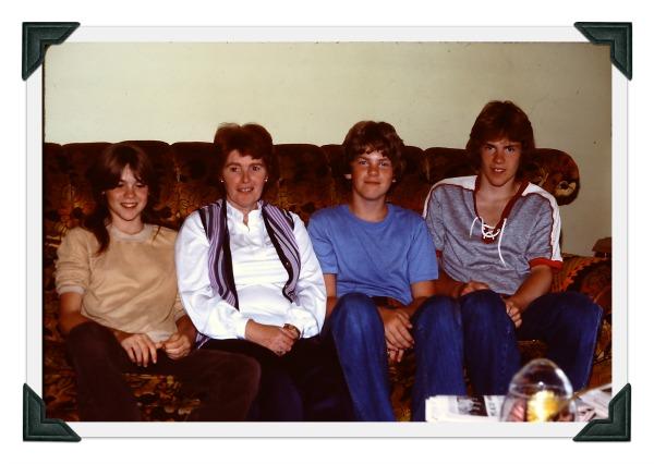 Kim, Aunt Donna, Ken and Scott