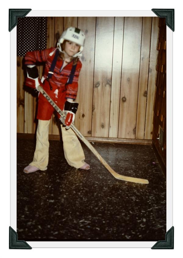 Kim, Hockey Get-Up
