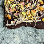 Marble Bark with Pistachios and Fleur de Sel | Ridiculously easy to make, seriously addictive to nosh on!
