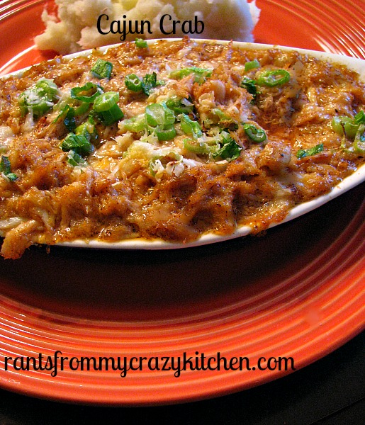 Cajun Crab: Guest Post by Rants from My Crazy Kitchen on Cravings of a Lunatic