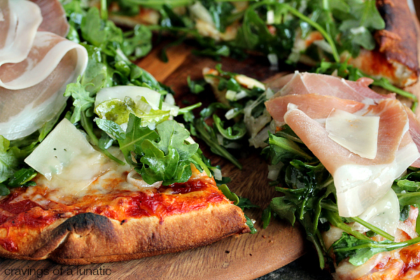 Prosciutto and Arugula Pizza | Simple to make yet full of flavour ...