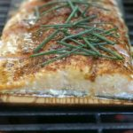Cedar Planked Salmon | Guest Post by My Catholic Kitchen on Cravings of a Lunatic | This is one seriously delicious recipe!