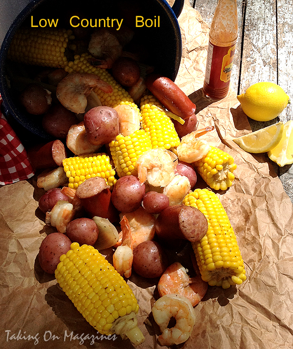 Low Country Boil   Guest Post by Taking On Magazines on Cravings of a Lunatic
