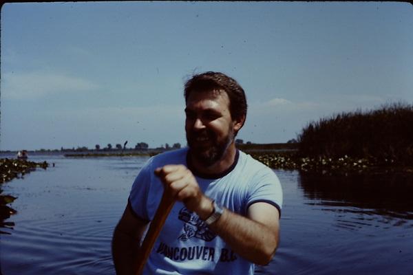 Dad Canoeing
