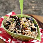 Farro with Dried Cherries and Pistachios
