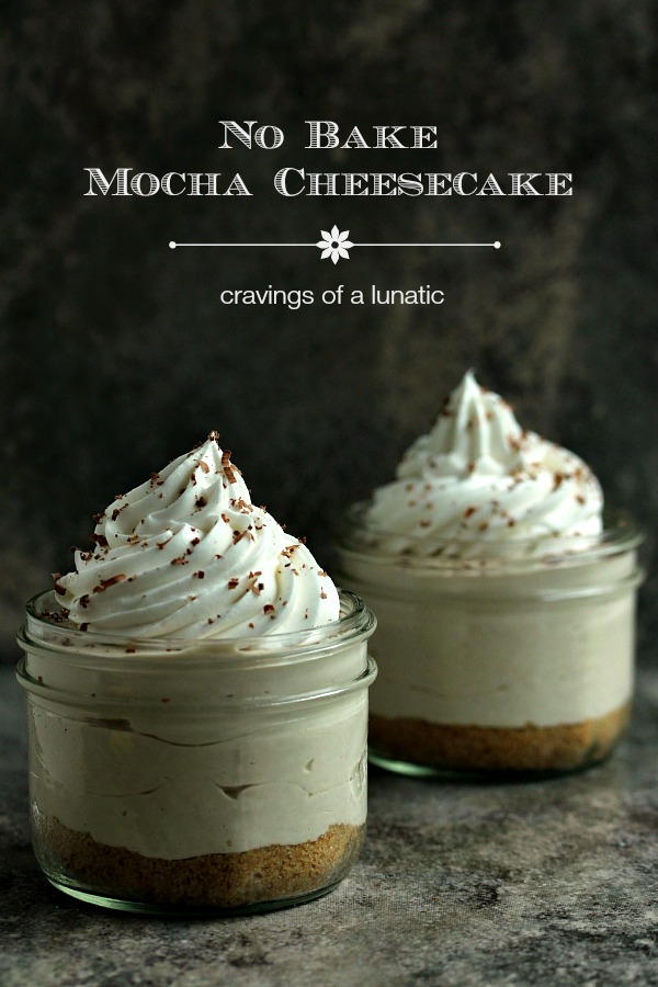 No Bake Mocha Cheesecake with Animal Cracker Crust from cravingsofalunatic.com- This is a super easy recipe to make a mocha flavoured no bake cheesecake. The crust use crushed animal crackers. You're going to love this recipe! (@CravingsLunatic)