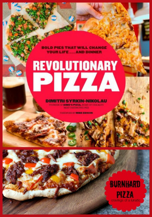 Revolutionary Pizza Cookbook Giveaway on Cravings of a Lunatic