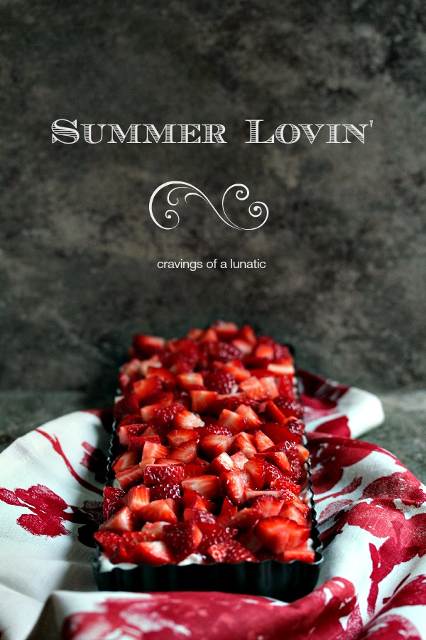 Strawberry No Bake Cheesecake Tart   This No Bake Strawberry Cheesecake Tart is super easy to make and perfect for summer.