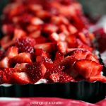 No Bake Strawberry Cheesecake Tart