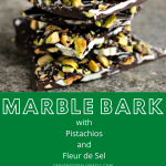 Marble Bark with Pistachios and Fleur de Sel collage image