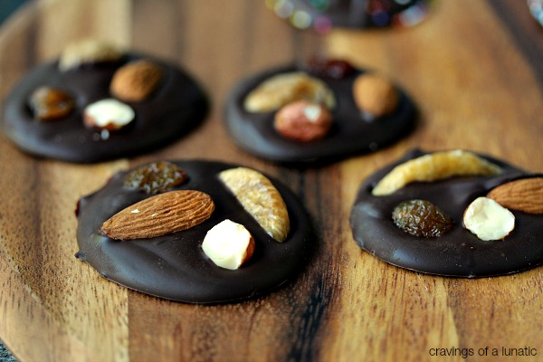 Mendiant | These little chocolates are super easy to make, and you can jazz them up any way you like.