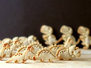 Dinosaur Cookies by Cookistry