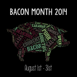 Bacon Month 2014 | Stop by the blog for lots of tasty bacon recipes for the month of August.