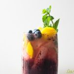 Blueberry Mango Mojito: Guest Post by The Little Ferraro Kitchen