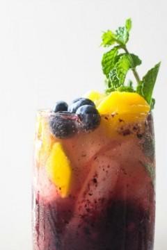 Blueberry Mango Mojito: Guest Post by The Little Ferraro Kitchen