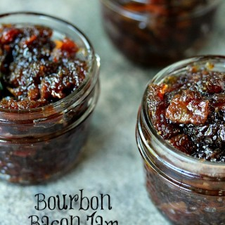 Bourbon Bacon Jam | This recipe is really easy to make and will have you slathering this Bourbon Bacon Jam on everything in sight.