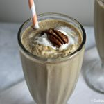 Bourbon Pecan Pie Milkshake by Cooking in Stilettos, guest post on Cravings of a Lunatic