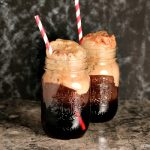 Cherry Cola Floats | Simple to make at home, just a few ingredients and you are sipping summer in a glass!