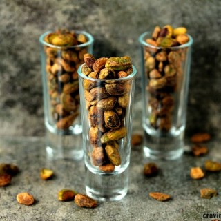 How to Toast Pistachios. It's easy and quick, plus it brings out the flavour.