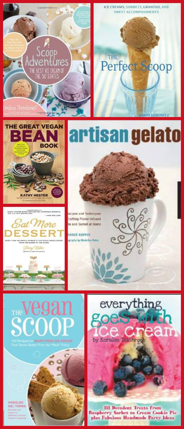Ice Cream Week 2014 Cookbook Giveaway plus we've got Cake Boss products, Microplane products, Wusthof, Anolon and a Cuisinart Ice Cream Maker up for grabs. Stop by now.