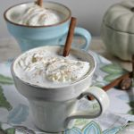 Bourbon Laced Vanilla Chai Tea Latte: Guest Post by Aly of Cooking in Stilettos #BoozeWeek