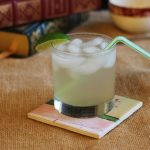 Light Drizzle by Quarter Life Crisis Cuisine , Guest Post on Cravings of a Lunatic A spicy-sweet cocktail, inspired by the popular Dark & Stormy, that won't kill your diet!