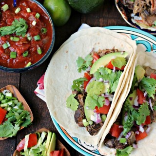 Sweet and Spicy Carnitas by Cravings of a Lunatic