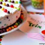 Trix Ice Cream Cake