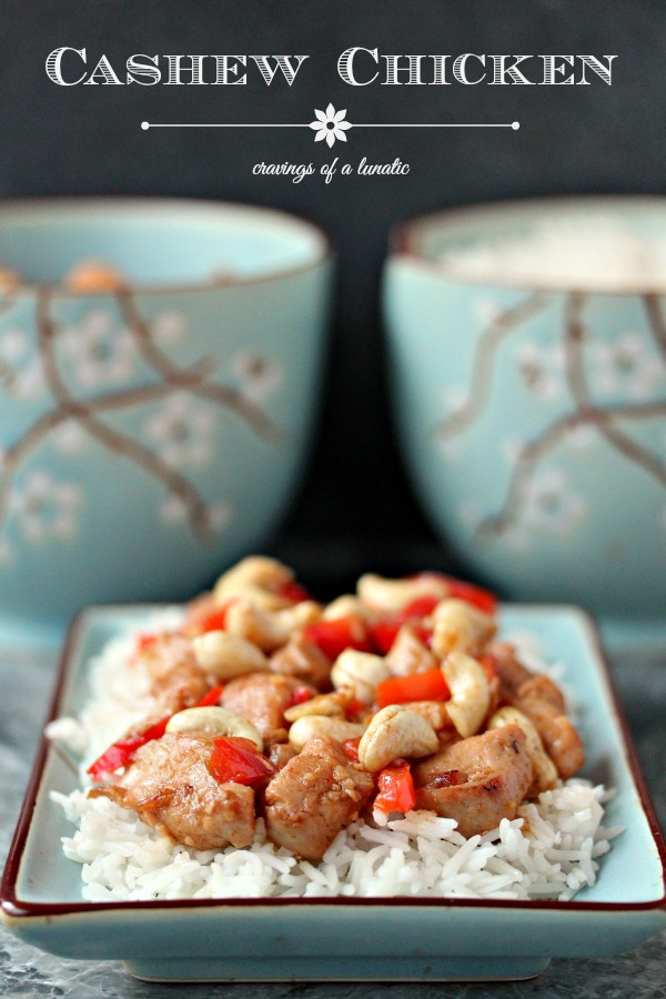Creamy Cashew Chicken | This recipe is quick, easy and sure to be a hit with your family and friends. Enjoy!