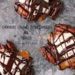 Chocolate Caramel Pecan Candies aka Turtles