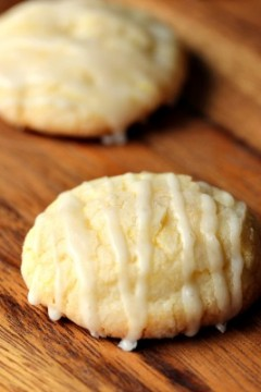 Glazed Lemon Sugar Cookies